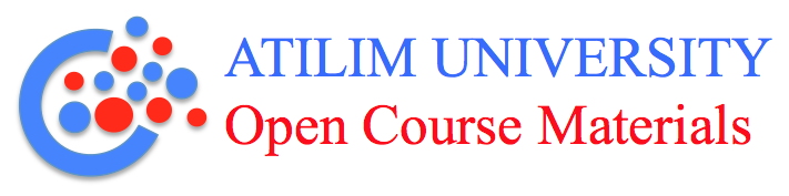 atilim university open course materials